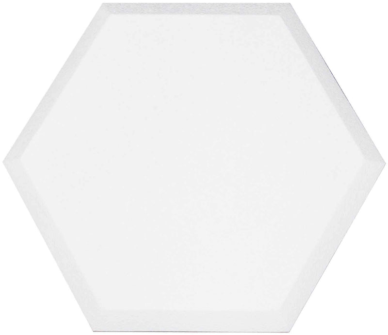 Primacoustic Accent Hexagon Beveled Edge - White - PSSL ProSound and Stage Lighting
