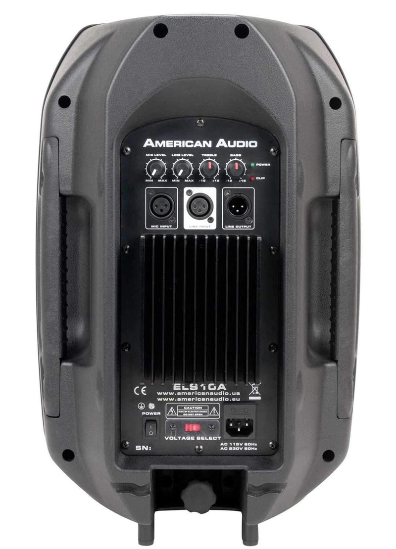 American Audio ELS10A 10 In Powered DJ PA Speake - ProSound and Stage Lighting