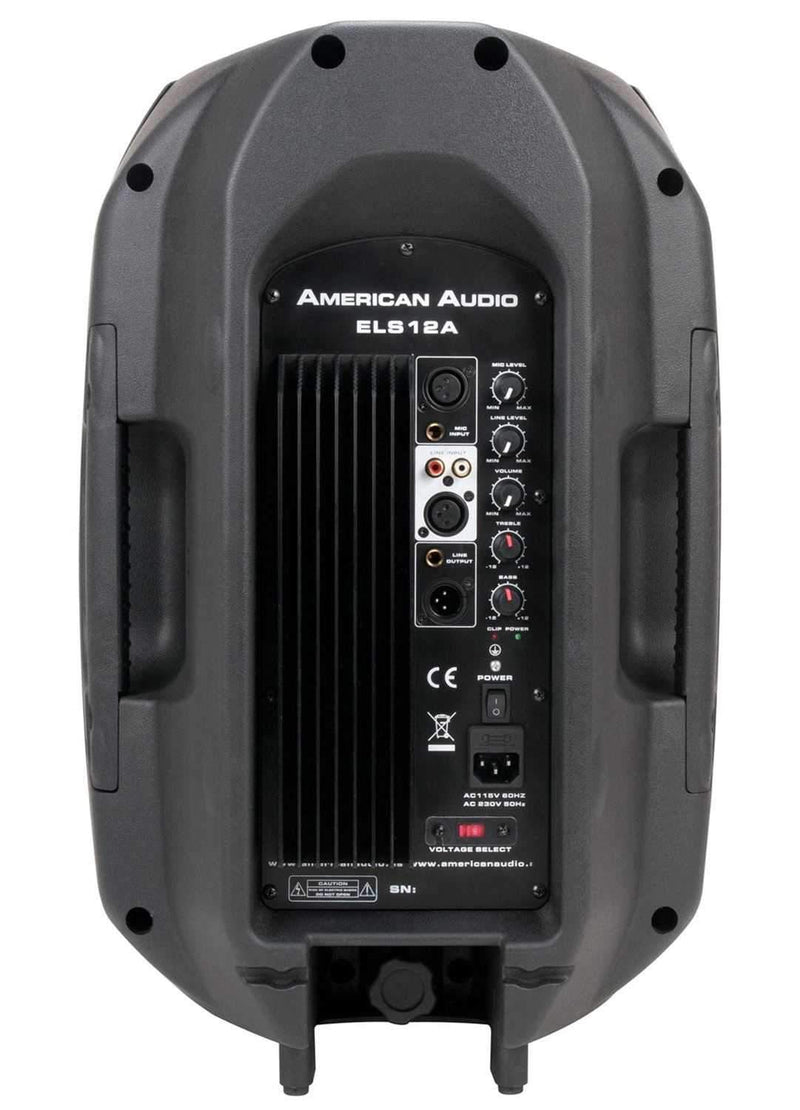 American Audio ELS12A 12-Inch Powered Speaker - PSSL ProSound and Stage Lighting