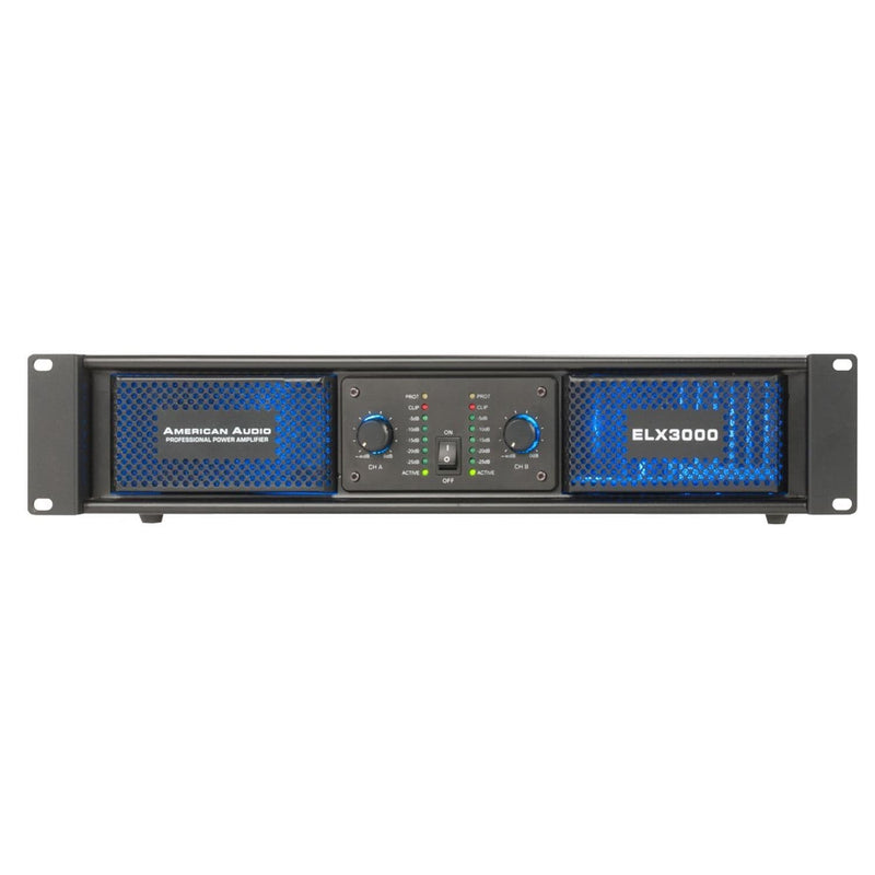 American Audio ELX3000 Power Amp 2x180W @ 8 ohms - PSSL ProSound and Stage Lighting