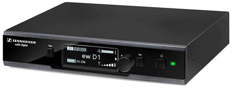 Sennheiser D1 Wireless Rack Receiver Only 2.4 Ghz - PSSL ProSound and Stage Lighting