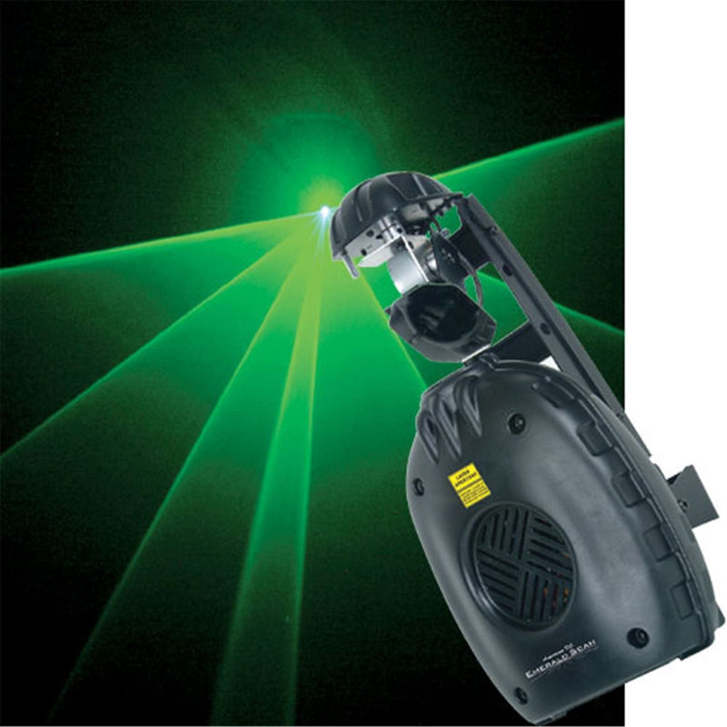 American DJ EMERALD SCAN DMX Linkable Green Laser - ProSound and Stage Lighting