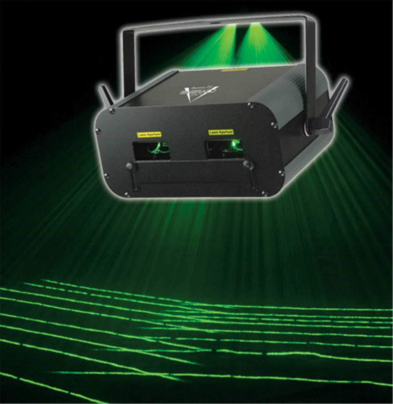 American DJ EMERALD SKY Dual Green Laser Light - ProSound and Stage Lighting