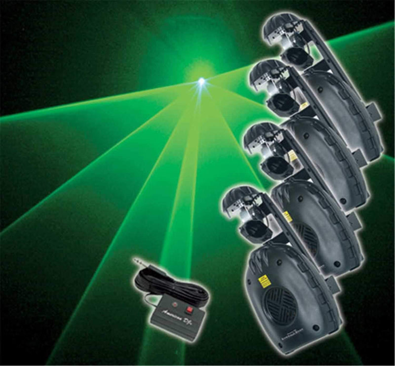 American DJ EMERALD SCAN System - PSSL ProSound and Stage Lighting