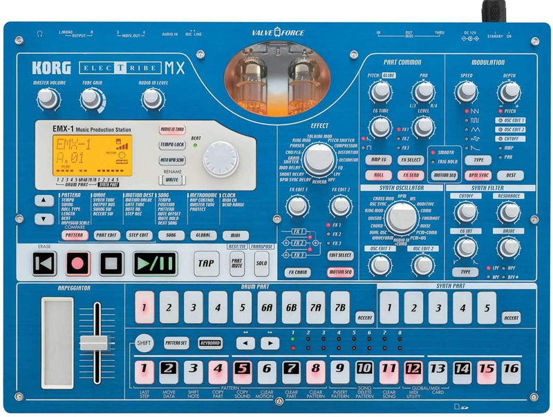 Korg EMX1SD Electribe Music Prod Station (SD card) - PSSL ProSound and Stage Lighting