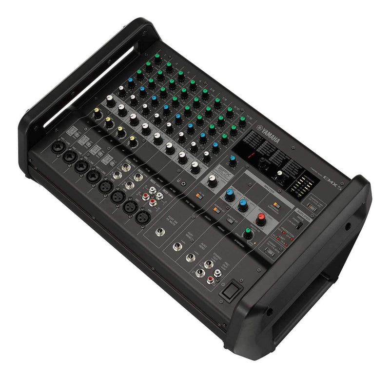 Yamaha EMX5 12 Input Powered Mixer - PSSL ProSound and Stage Lighting