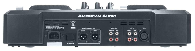 American Audio Encore 1000 CD/MP3 Player Mixer - ProSound and Stage Lighting