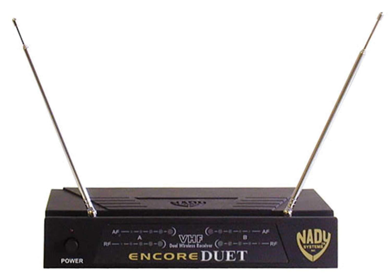 Nady DUETHT Dual Channel Handheld Wireless System - PSSL ProSound and Stage Lighting