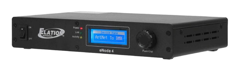 Elation Enode 4 Universe Artnet DMX Interface - PSSL ProSound and Stage Lighting