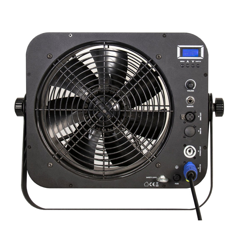 ADJ American DJ Entour Cyclone Professional DMX Stage Fan - PSSL ProSound and Stage Lighting