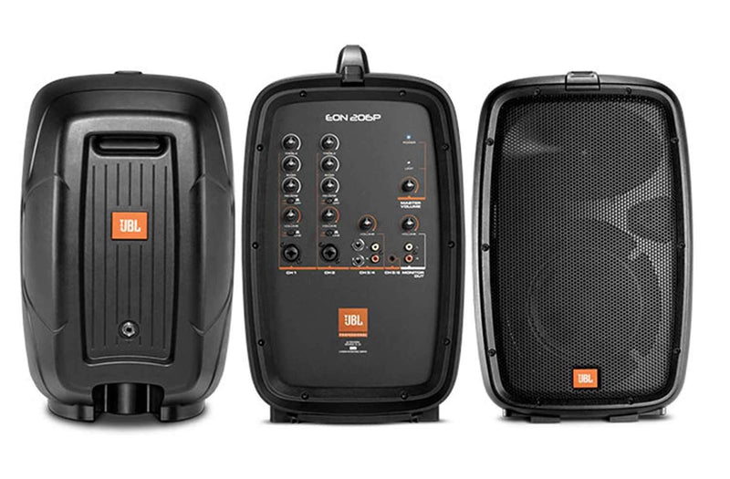 JBL EON206P 6-Channel Compact Portable PA System - PSSL ProSound and Stage Lighting
