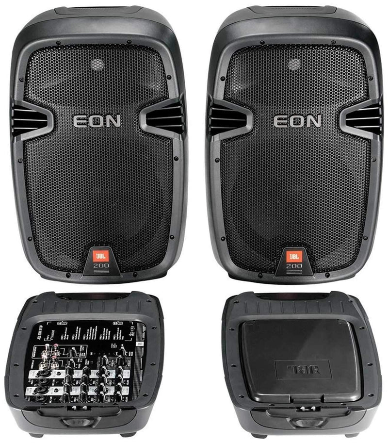 JBL EON210P Self-Contained Portable PA System - PSSL ProSound and Stage Lighting