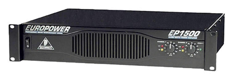 Behringer EP1500 Power Amplifier - PSSL ProSound and Stage Lighting