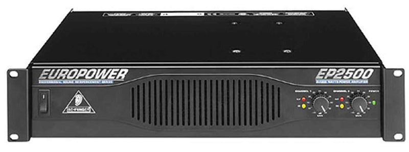 Behringer EP2500 Power Amplifier - ProSound and Stage Lighting