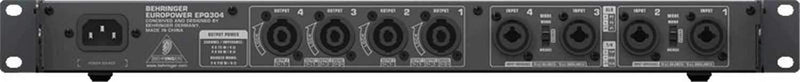 Behringer EPQ304 Light Weight Power Amplifier - ProSound and Stage Lighting