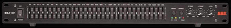 BBE EQA131 Single Channel 31-Band Eq - PSSL ProSound and Stage Lighting