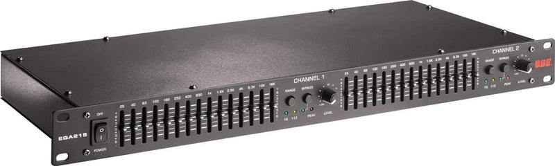 BBE EQA215 Dual Channel 15 Band Equalizer - PSSL ProSound and Stage Lighting