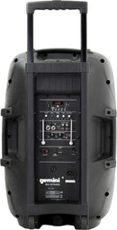 Gemini ES-15TOGO Portable Battery-Powered 15-Inch Speaker with Bluetooth - PSSL ProSound and Stage Lighting