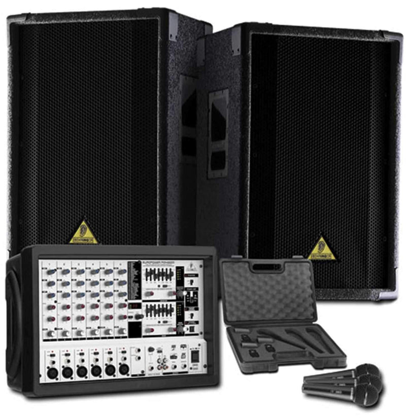 Behringer Europower Pack 10 PA Package - PSSL ProSound and Stage Lighting