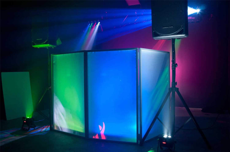 ADJ American DJ Event Facade for DJs - White with Bag - PSSL ProSound and Stage Lighting