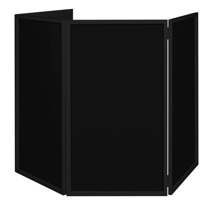 ADJ American DJ Black Event Facade for DJs with Bag - PSSL ProSound and Stage Lighting