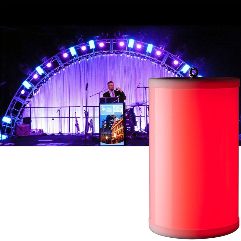 Elation Event Cylinder RF Remote Outdoor LED Tube - PSSL ProSound and Stage Lighting