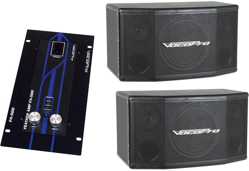 VocoPro EventMan Basic Speaker Package - PSSL ProSound and Stage Lighting