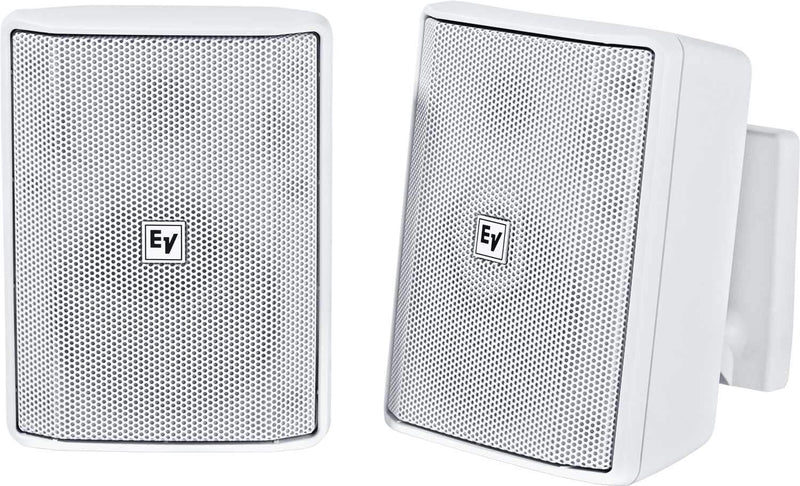 Electro-Voice Evid S4.2TW 4-Inch Speaker Pair White - PSSL ProSound and Stage Lighting