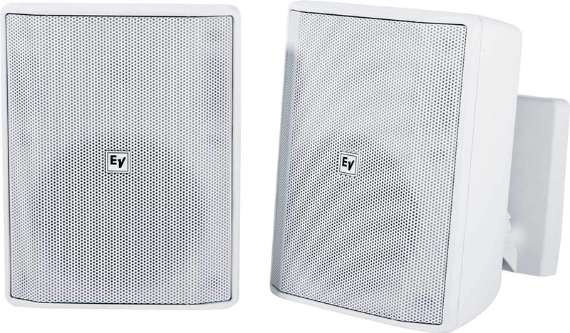 Electro-Voice Evid S5.2W 5-Inch 8Ohm Speaker Pair White - PSSL ProSound and Stage Lighting