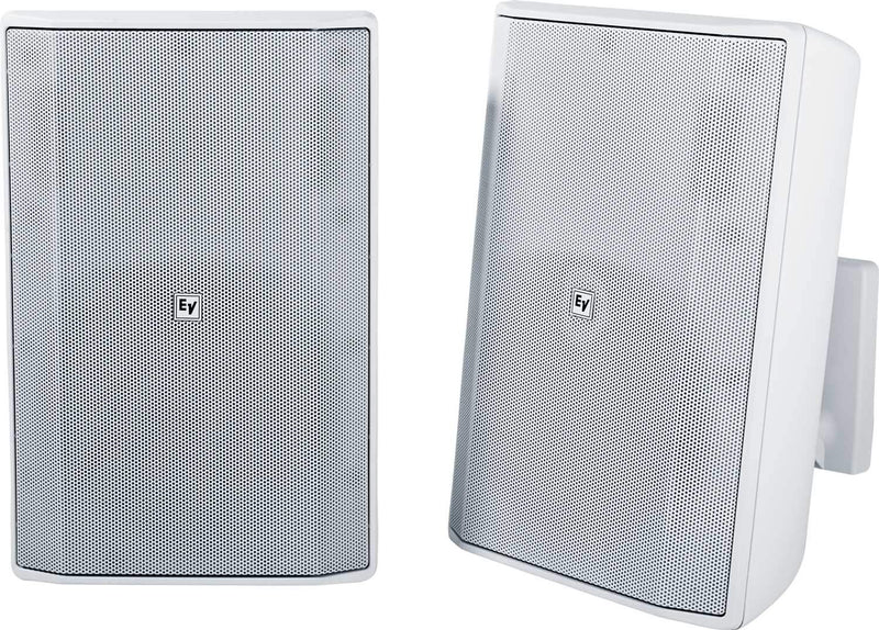 Electro-Voice Evid S8.2W 8-Inch Speaker Pair White - ProSound and Stage Lighting