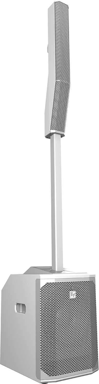 Electro-Voice EVOLVE 50 Portable Column Array Speaker System (White) - ProSound and Stage Lighting