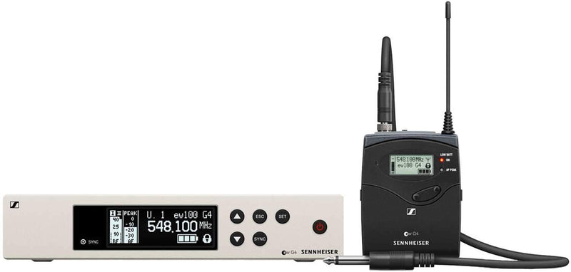 Sennheiser ew 100 G4-CI1 Evolution Wireless G4 Instrument Set A - PSSL ProSound and Stage Lighting