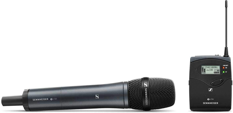 Sennheiser ew 135P G4 Evolution Wireless Portable Vocal Set - PSSL ProSound and Stage Lighting