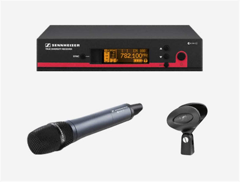 Sennheiser EW-145-G3 845 Handheld Mic System - ProSound and Stage Lighting