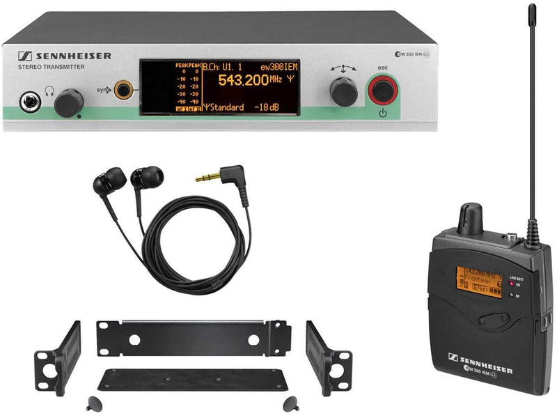 Sennheiser ew 300-2 IEM G3 Wireless IEM System G - PSSL ProSound and Stage Lighting