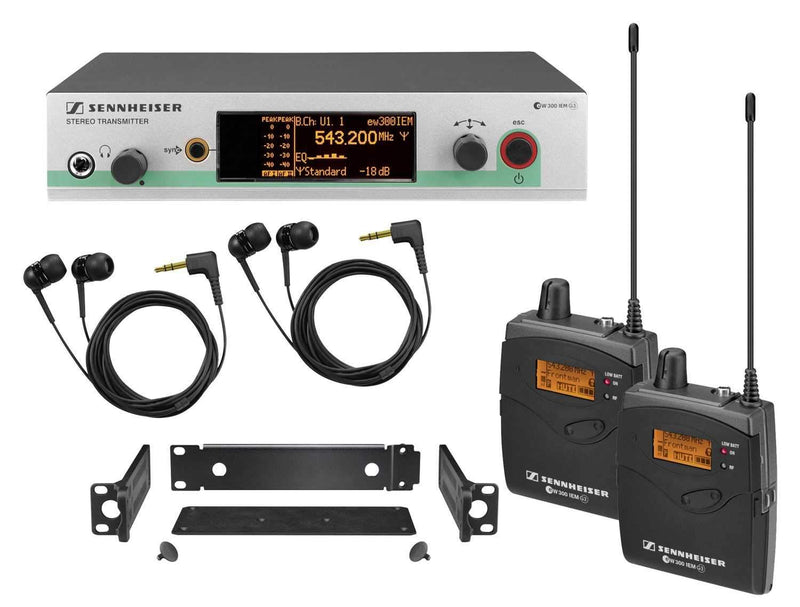 Sennheiser EW3002IEM Pro In Ear Monitoring System - PSSL ProSound and Stage Lighting