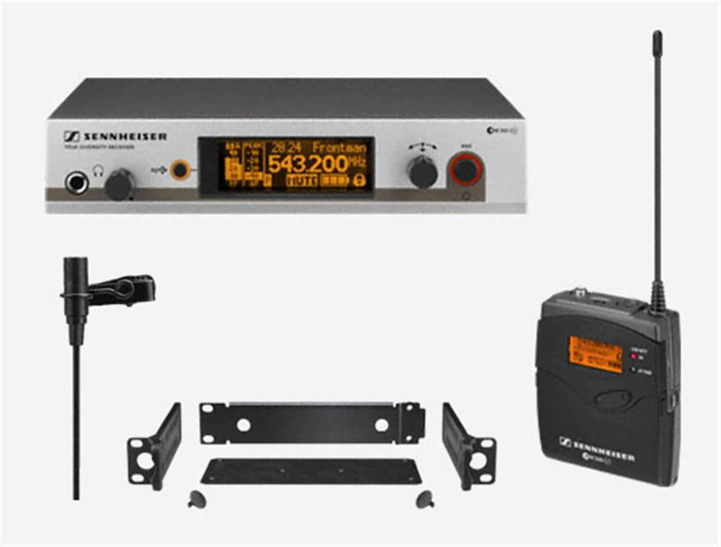 Sennheiser EW-312G3 Lav Wireless Sys/Rackmount Kit - PSSL ProSound and Stage Lighting