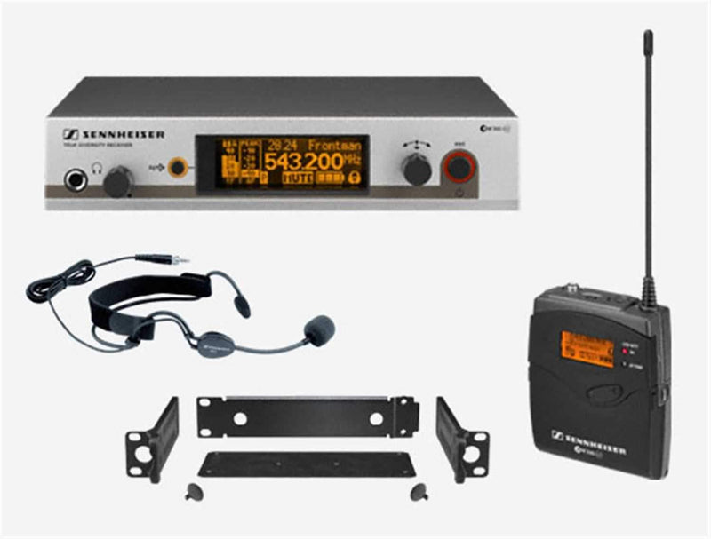 Sennheiser EW-352-G3 Headset Wireless Mic System - Rackmount - PSSL ProSound and Stage Lighting