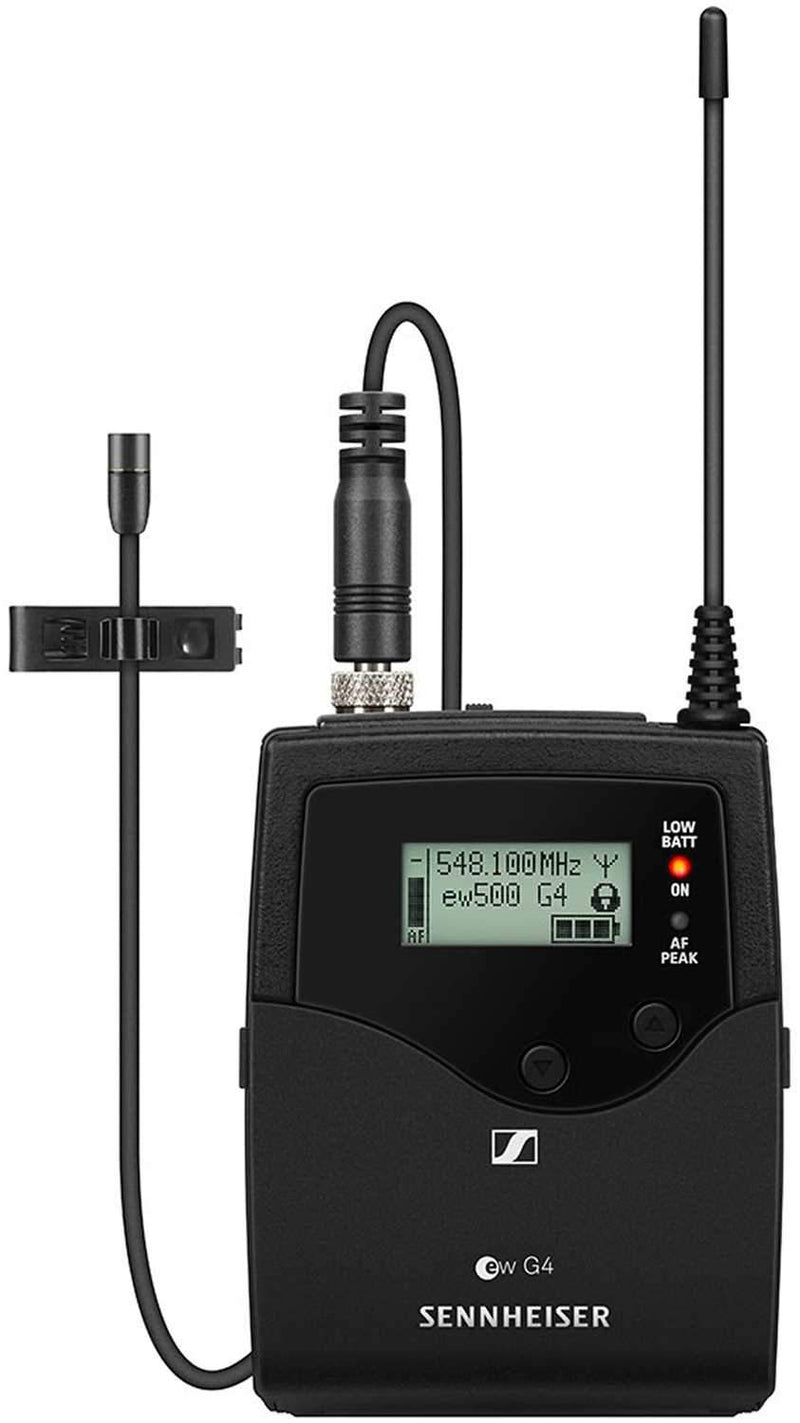 Sennheiser ew 500 FILM G4 Evolution Wireless Portable Combo Mic Set AW Plus - ProSound and Stage Lighting