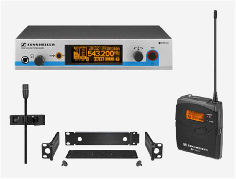 Sennheiser EW-512-G3 Rackmount Omnidirectional Lavalier Wireless Mic System - PSSL ProSound and Stage Lighting