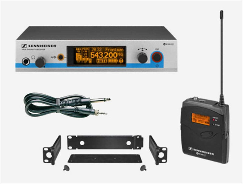 Sennheiser EW572G3 Rackmount Wireless Inst. System - ProSound and Stage Lighting