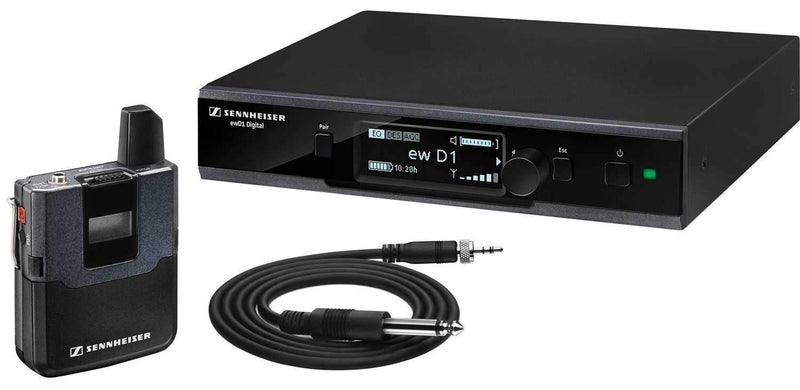 Sennheiser D1 Wireless Instrument System with CI1 - PSSL ProSound and Stage Lighting