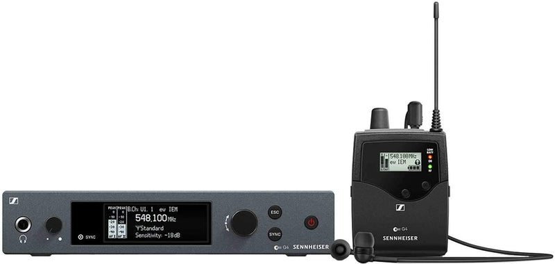 Sennheiser ew IEM G4 Wireless Stereo In-Ear Monitor Set - A - PSSL ProSound and Stage Lighting