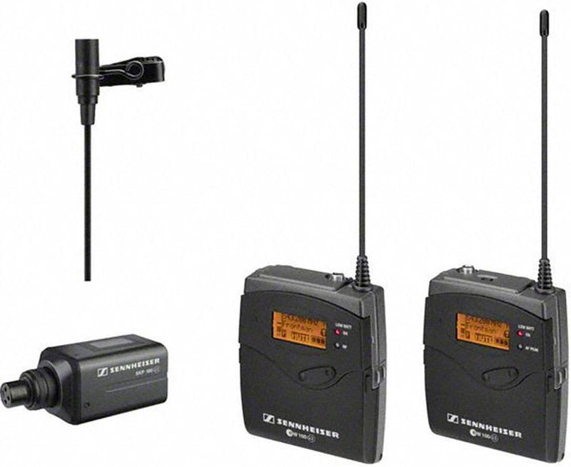 Sennheiser ew 100-ENG G3 Camera Lavalier Wireless Mic Kit - ProSound and Stage Lighting