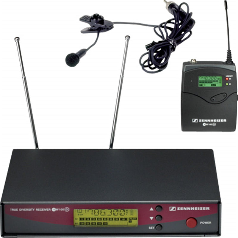 Sennheiser EW122-G2 Wireless Lavalier System - A - PSSL ProSound and Stage Lighting
