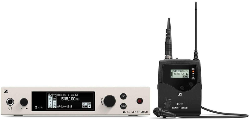 Sennheiser ew 300 G4 ME 2 Evolution Wireless Lavalier Set - PSSL ProSound and Stage Lighting