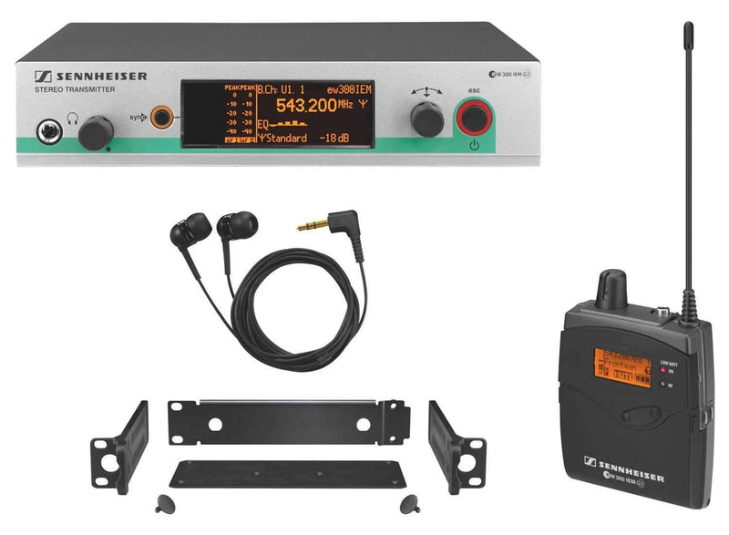 Sennheiser EW 300 IEM G3 In Ear Monitoring System - PSSL ProSound and Stage Lighting