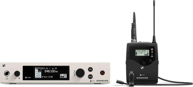 Sennheiser ew 500 G4 MKE 2 Evolution Wireless Lavalier Set - PSSL ProSound and Stage Lighting