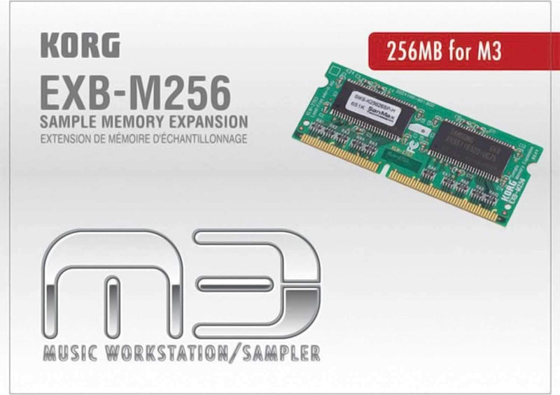 Korg 256 Mb Sample Memory Expansion for M3 - ProSound and Stage Lighting