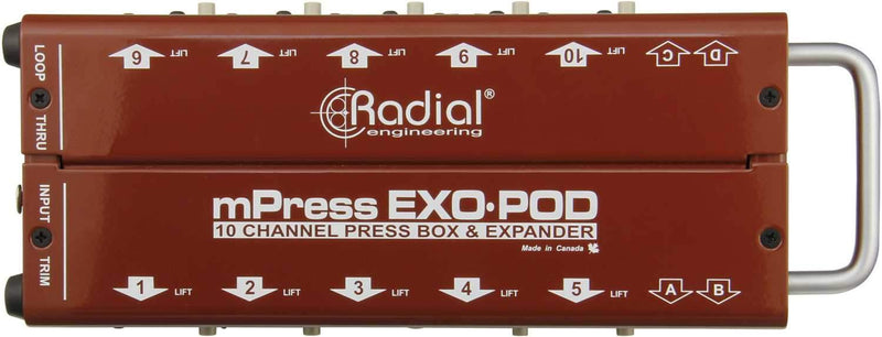Radial Exo-Pod Press-box Expander Floorbox - PSSL ProSound and Stage Lighting